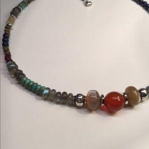 Genuine Gemstone Necklace
